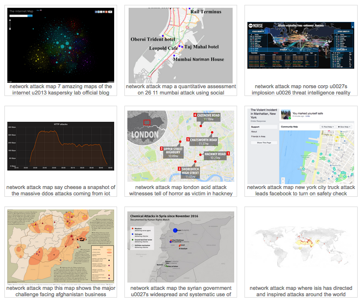 Network Attack Map Collection - Security Boulevard
